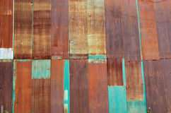 Texture of rusty zine . Royalty Free Stock Image