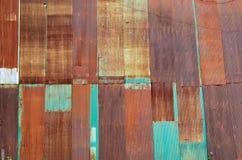 Texture of rusty zine . Royalty Free Stock Image