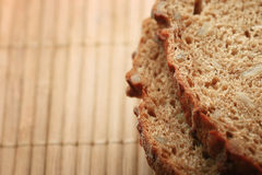 Texture rye bread Royalty Free Stock Image