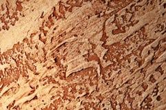 Texture sèche de fond de brun d'argile Image libre de droits