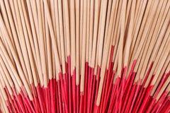 Texture sèche de modèles de groupes de bâton d'encens pour le fond photos stock