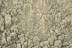 Texture sèche une de boue Image libre de droits