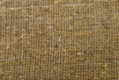 Texture of sackcloth Stock Photography