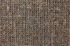 Texture of sacking or hessian or burlap material, gunny sack Stock Photos