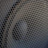 Texture saine de gril de haut-parleur Photo stock