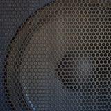 Texture saine de gril de haut-parleur Photographie stock libre de droits