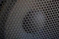 Texture saine de gril de haut-parleur Photographie stock