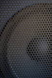 Texture saine de gril de haut-parleur Image libre de droits
