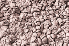 Texture of the salt of the earth Royalty Free Stock Photo