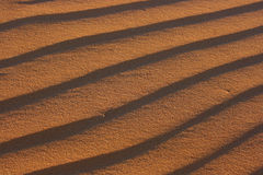 Texture of sand Stock Images
