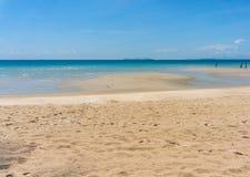 Texture of sand beach of Koh Kood, Thailand sea Stock Image