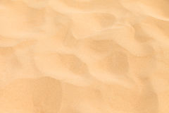 Texture Sand Dune Desert in Boavista, Cape Verde Stock Photo