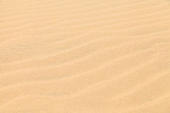 Texture Sand Dune Desert in Boavista, Cape Verde Stock Photography