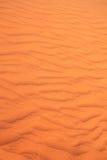 Texture of sand dune in desert Stock Image