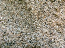 Texture of sand grains stock image