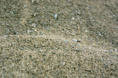 Texture of sand and gravel. Stock Images