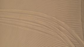 The beatiful sand. The texture of the sand seen from the sky. Ideal for backgrounds stock video