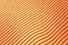 Texture sand waves Royalty Free Stock Photos