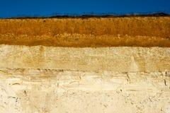 Texture of sand Stock Photos