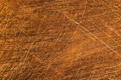 Texture of sandpapered copper-clad fiberglass plate. Used for making printed circuit boards Royalty Free Stock Image