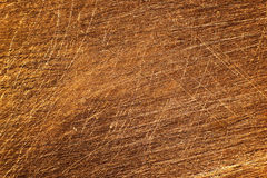 Texture of sandpapered copper-clad fiberglass plate. Used for making printed circuit boards Royalty Free Stock Photo