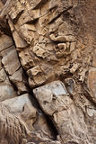 Texture of sandstone. Royalty Free Stock Photos