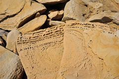 Texture of sandstone Royalty Free Stock Images