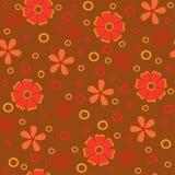 Texture sans couture abstraite de fleurs Image libre de droits