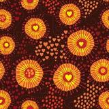 Texture sans couture abstraite psychédélique Photographie stock libre de droits