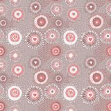 Texture sans couture abstraite psychédélique Images stock