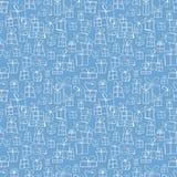 Texture sans couture avec des boîte-cadeau Images libres de droits