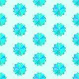 Texture sans couture avec l'ornement géométrique Image stock