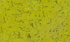 Texture sans couture avec la peinture jaune ébréchée image libre de droits