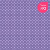 Texture sans couture avec le petit point pourpre Vecteur de Violet Polka Dot Pattern Background illustration stock