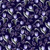 Texture sans couture avec les modèles décoratifs 9 Photos stock