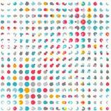 Texture sans couture colorée de point Photos libres de droits