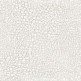 Texture sans couture criquée de vecteur de modèle sur le fond blanc illustration libre de droits
