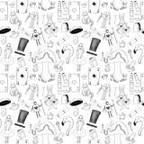 Texture sans couture d'Alice Image stock