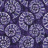Texture sans couture de batik Illustration de Vecteur