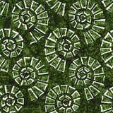 Texture sans couture de batik Photographie stock