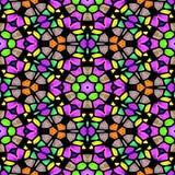 Texture sans couture de beau kaléidoscope multicolore Illustration Libre de Droits