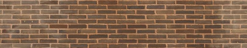 Texture sans couture de brique de brun de lien de fonctionnement photographie stock