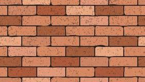 Texture sans couture de briques illustration de vecteur