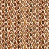 Texture sans couture de café Image stock