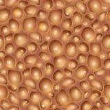 Texture sans couture de chocolat Photo stock