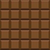 Texture sans couture de chocolat Photos stock