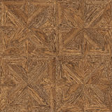 Texture sans couture de conception de parquet Images stock