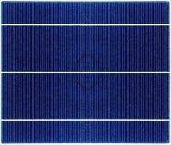 Texture sans couture de fin de panneau solaire  Images libres de droits
