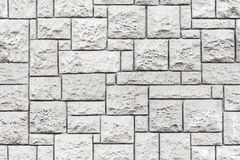 Texture sans couture de fond de mur en pierre gris Photos libres de droits