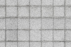 Texture sans couture de fond de mur en pierre gris de carrelage Photographie stock libre de droits